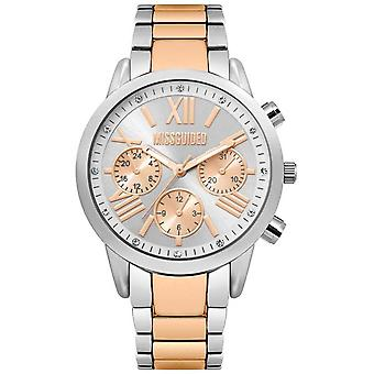 Missguided | Ladies | Two-Tone Stainless Steel Bracelet | MG008SRM Watch