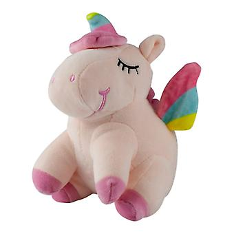 Sleeping unicorn, stuffed toys/stuffed animals-Pink
