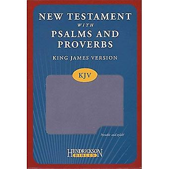 KJV New Testament with Psalms and Proverbs - Lilac (Kjv Bible Lilac)