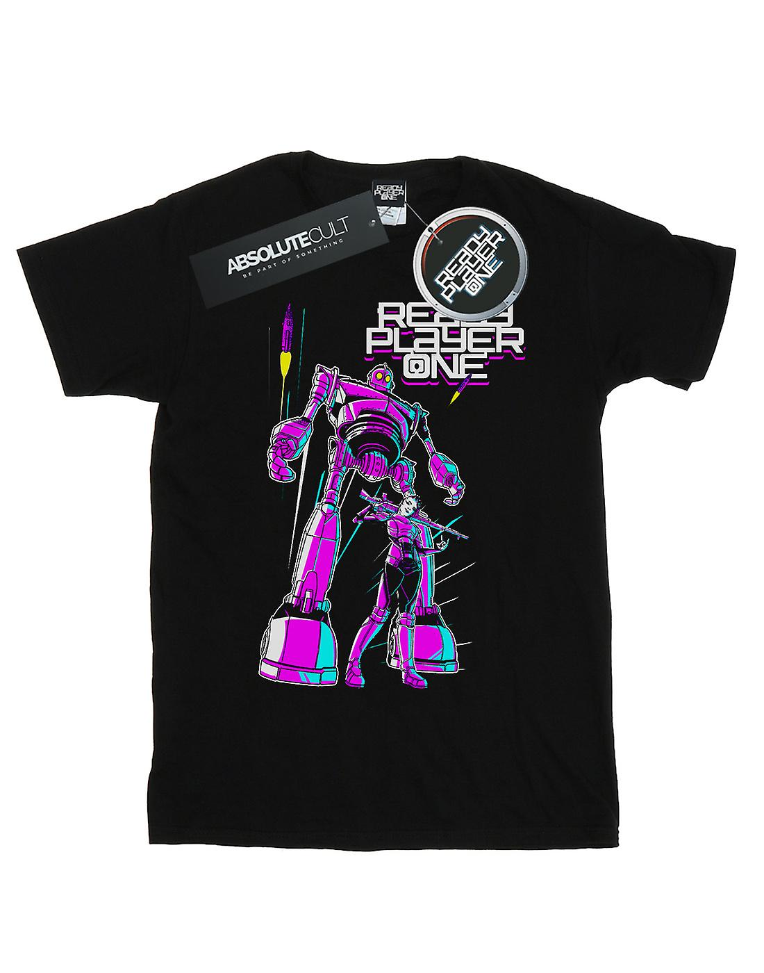 Ready Player One Women's Iron Giant And Art3mis Boyfriend Fit T-Shirt