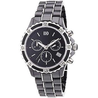 Dansk Design 3324476-armbåndsur, keramikk, farge: svart