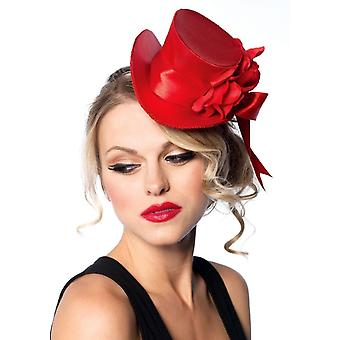 Top Hat Mini Satin Red For All