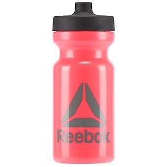 مؤسسة ريبوك الرياضية مياه شرب زجاجة 500 مل الوردي
