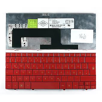 Compaq ミニ733EZ 赤ドイツのレイアウト交換ノートパソコンのキーボード