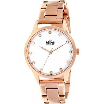 Toon Elite E55044-801 - staal vrouw Rose Gold