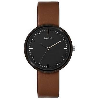 MAM Plano Watch - Brown/Black