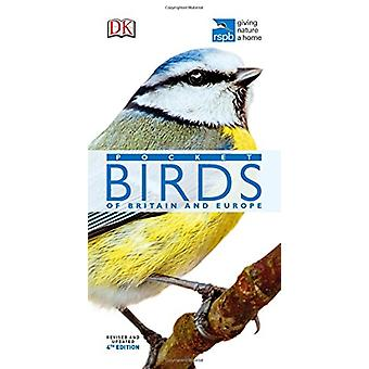 RSPB Pocket Birds of Britain and Europe by DK - 9780241257227 Book