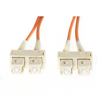 5M Sc Sc Om1 Multimode Fibre Optic Cable Orange