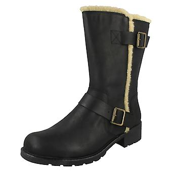 Ladies Clarks Casual Ankle Boots Orinoco Art