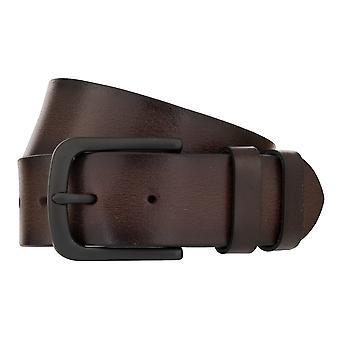 MONTI DALLAS Belt Men's Belt Leather Belt Brown 8030