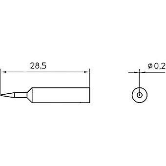 Weller XNT 1S Soldering tip Round Tip size 0.2 mm Content 1 pc (s) Weller XNT 1S Soldering tip Round Tip size 0.2 mm Content 1 pc (s) Weller XNT 1S