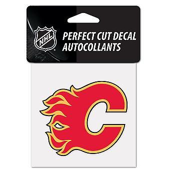 Wincraft tarra 10x10cm-NHL Calgary Flames