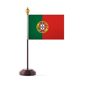 Portugali taulukon lippu kiinni & Base