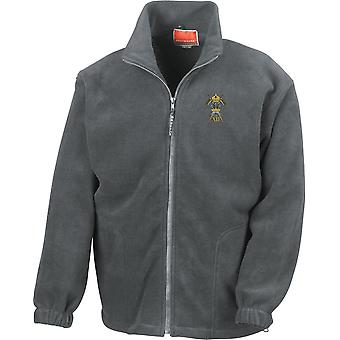 12 Royal Lancers - Licensed British Army Embroidered Heavyweight Fleece Jacket
