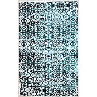 Pierre Cardin Design matto akryyli kerma/turkoosi