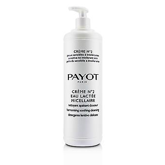 Payot Creme N°2 Eau Lactee Micellaire Armonizzante Pulizia Lenitiva (dimensione del salone) - 1000ml/33.8once