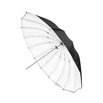 BRESSER SM-14 Jumbo parapluie réfléchissant blanc/noir 150 cm