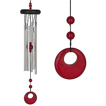 Red Coral Chakra Wind Chime Large z Woodstock