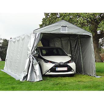 Tenda garage PRO 3,3x6x2,4m PE, Grigio