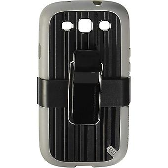 PureGear Utilitarian Case with Kickstand for Samsung Galaxy S3 - Black