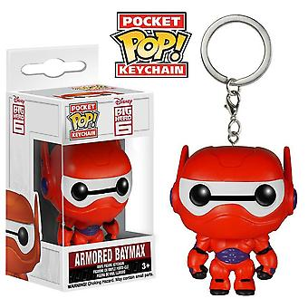 Big Hero 6 panssaroitu Baymax Pocket Pop! Avaimenperä