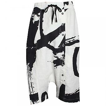 Koncepcja Crea drukowane szorty w stylu Pantalon len