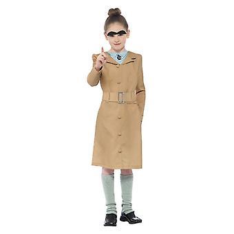 Dievčatá Roald Dahl Miss Trunchbull maškarný kostým