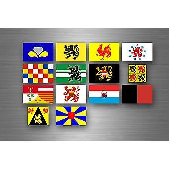 Sticker Sticker Sticker Labels Region Province States Belgium