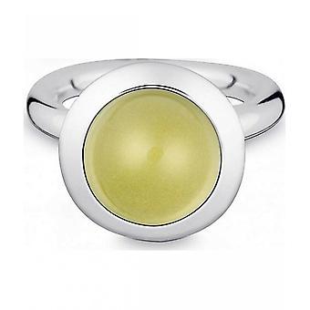 Quinn-zilveren ring met citroen kwarts-021894648