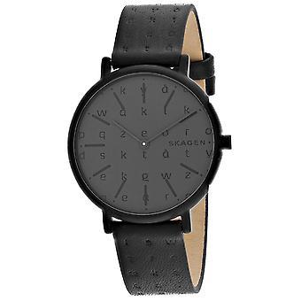 Skagen Frauen's Signatur Grau Zifferblatt Uhr - SKW2746