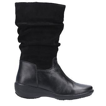 Flåde & Foster dame/damer Margot Mid Suede støvle