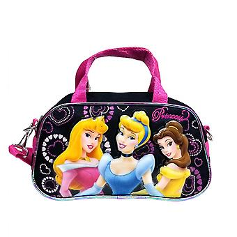 Handbag Disney Princess 3 Princess Black Hand Bag Purse Girls 31036