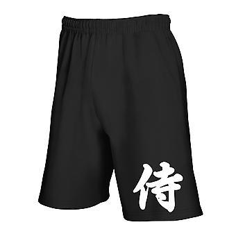 Pantaloncini tuta nero tam0009 samurai