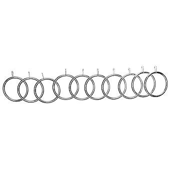 Stanford Home Unisex Metal Curtain Rings