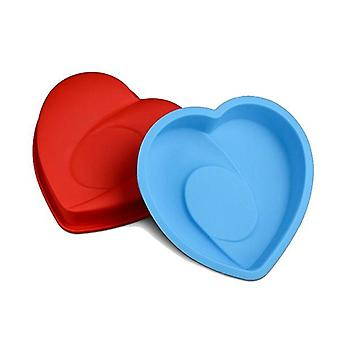 Vincenza cake silicone muffin pudding giant heart bakeware pan mould baking tray