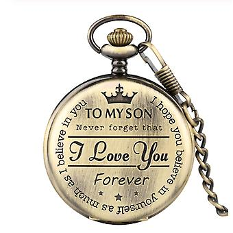 To my son pocket watch
