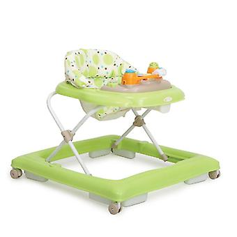 Running trolley, walk-free Eddy height-adjustable, polished seat with play center