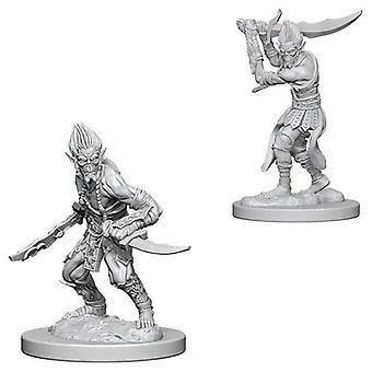 D&D Nolzur's Marvelous Unpainted Miniatures Githyanki (Pack of 6)