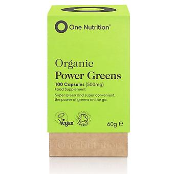 One Nutrition PowerGreens 500mg Vegicaps 100
