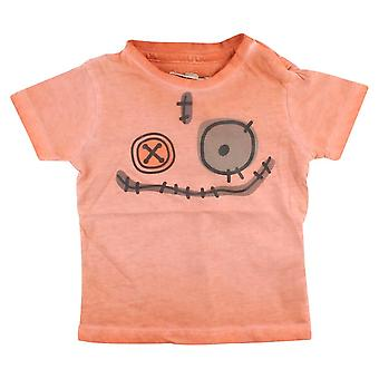 Malé Rags Orange T-shirt Gary