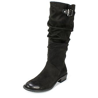 White Mountain Womens dia Fabric Almond Toe Knee High Fashion Boots