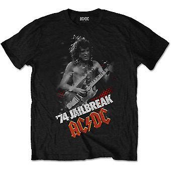 ACDC Jailbreak Angus Young Bon Scott Rock Official T-Shirt