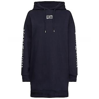 Tommy Hilfiger Paloma Logo Hoodie Sweatshirt Kleid