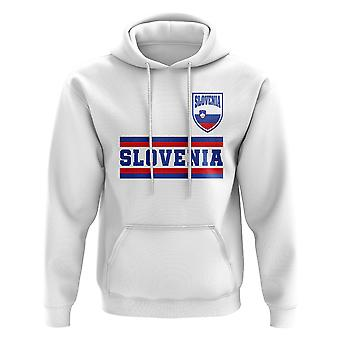 Slovenia Core fotball Country Hoody (hvit)
