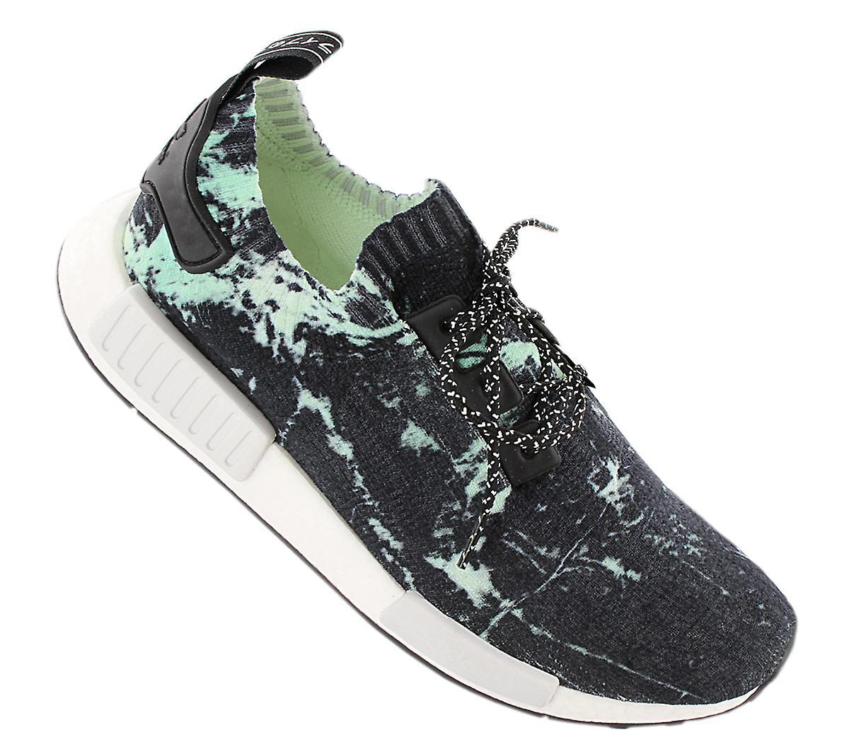 Adidas Originals Nmd R1 Pk Boost - Primeknit Herresko Flerfarget Bb7996 Joggesko Sportssko