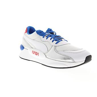 Puma RS 9.8 NASA Space Agency  Mens White Mesh Low Top Sneakers Shoes