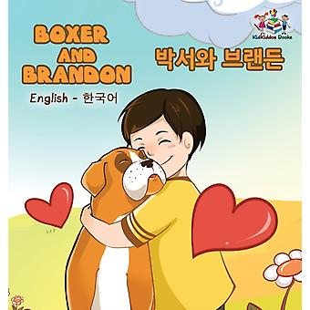 Boxer and Brandon English Korean Bilingual Childrens Books by Books & KidKiddos
