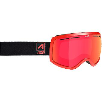 AZR Masque de ski Rider Rouge Mat Full Rouge