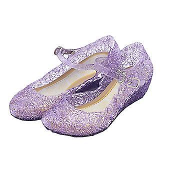 Vokamara princesa niñas sandalias jalea Mary Jane danza fiesta Cosplay zapatos para...