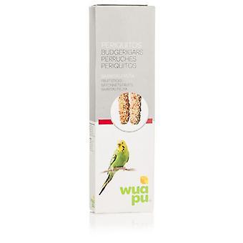 Wuapu hedelmät sauvat papukaija (linnut, lintu kohtelee)